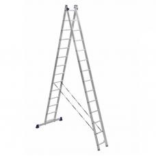 Лестница алюминиевая Алюмет 2*14 H2 5214