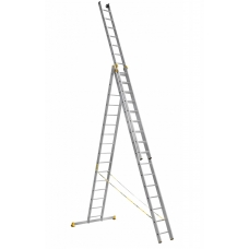 Лестница алюминиевая Алюмет 3*16 (P3 9316) усиленная