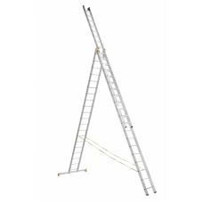 Лестница алюминиевая Алюмет 3*20 (Р3 9320) усиленная
