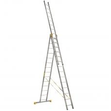 Лестница алюминиевая Алюмет 3*14 P3 9314 профессиональная