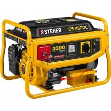 Генератор бензиновый STEHER GS-4500Е с электропуском