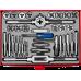 Набор метчиков и плашек ЗУБР 9ХС 65 предметов 28118-H65_z01 серия «Мастер»