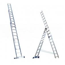 Лестница алюминиевая Алюмет 3*13 (6313) усиленная