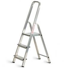 Лестница стремянка алюминиевая Алюмет 3 ступени Ам703
